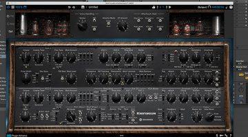 Knif Audio Knifonium: ein Synthesizer mit 26 Röhren als Plug-in
