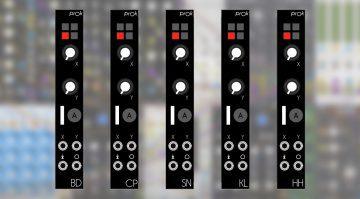 Prok Drum-Module für VCV Rack