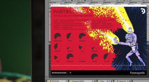 Puremagnetik Partikl: Partikel Delay und temporaler Pitchshifter als Plug-in
