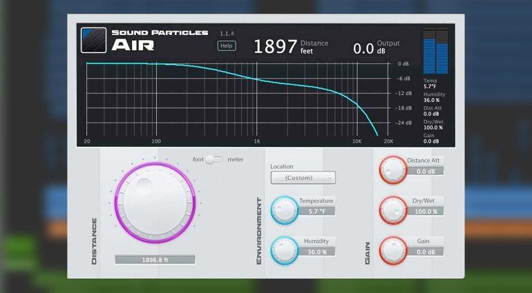 Sound Particles Air
