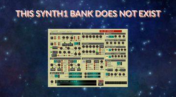 Künstliche Intelligenz erstellt Patches für den kostenlosen Synth1