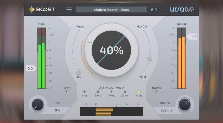 Ursa DSP Boost: ein Pro Maximizer mit einem Fokus auf das Wesentliche