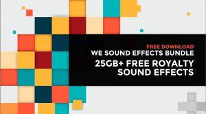 We Sound Effects Bundle