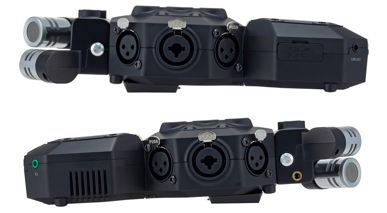 Zoom H8 Handy Recorder Anschlüsse