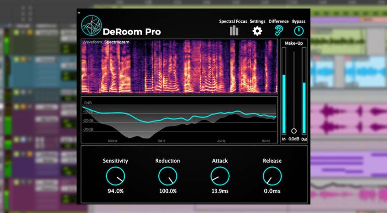 Accentize DeRoom Pro: De-Reverberation für die Profis