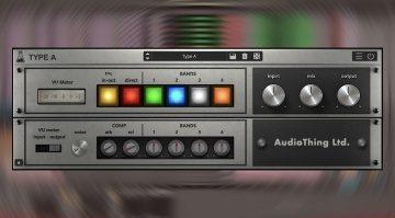 AudioThing Type A: eine Vintage Rauschunterdrückung als Enhancer Plug-in