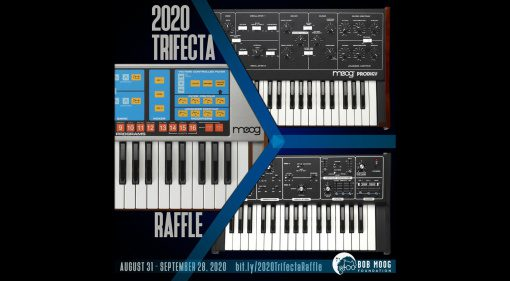 Bob Moog Foundation 2020 Trifecta Raffle