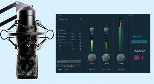 Dialog Audio Live: ein perfekter Livestream aus eurem Studio?