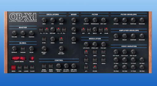 discoDSP OB-Xd 2.0