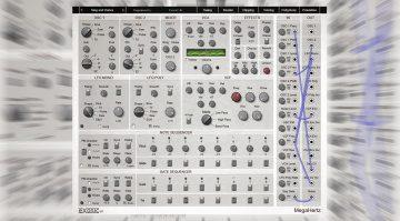 Exonic UK MegaHertz: Ein semimodularer Synthesizer nicht nur für Einsteiger