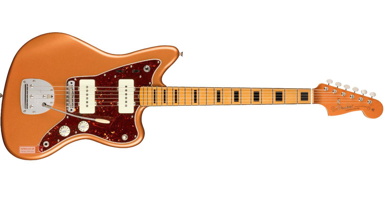 Fender Troy Van Leeuwen Signature Jazzmaster Copper Age Front