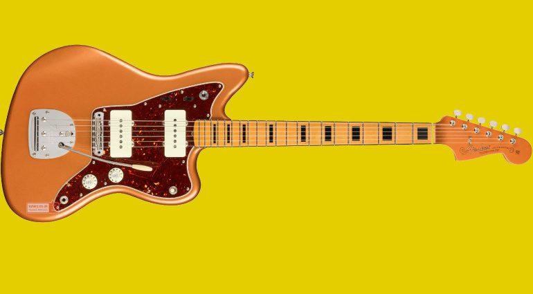Fender Troy Van Leeuwen Signature Jazzmaster Copper Age Teaser