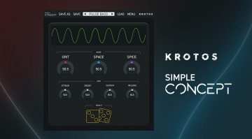 Kostenlos: Focusrite Plug-in Collective verschenkt Krotos Simple Concept