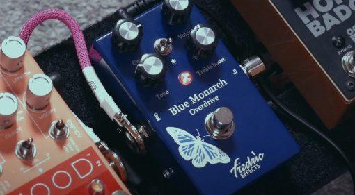 Frederic Effects Blue Monarch Effekt Pedal 1