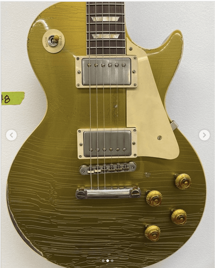 Gibson Murphy Lab Division Les Paul Gold Top