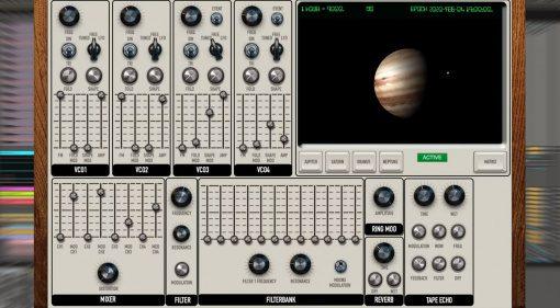 Giorgio Sancristoforo Quadrivium: ein Synthesizer mit Modulationen aus dem Universum