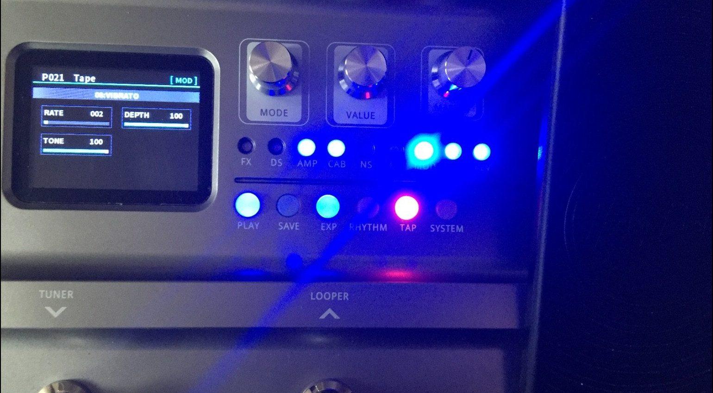 Harley Benton DNAfx GiT Multi Effekt Pedal LEDs