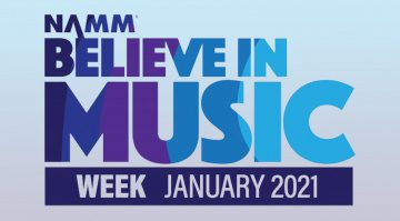 NAMM Believe in Music Week 2021