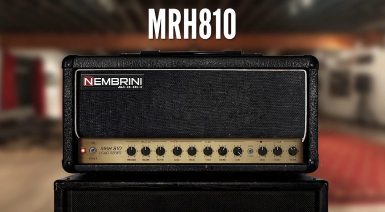Nembrini Audio MRH810 V2: Lead Series Guitar Amplifier Emulation mit Mega-Rabatt