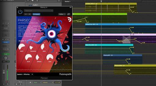 Puremagnetik Parsec: eine Kreatur sorgt für mehr 3D in eurem Sound