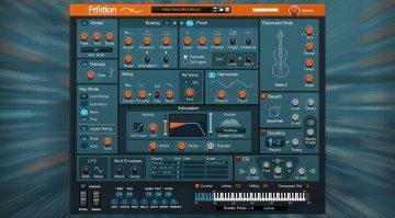 Reason Studios Friktion: Streicher-Model-Synthesizer für Reason