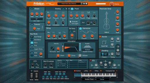 Reason Studios Friktion: Streicher-Model-Synthesizer für Reason