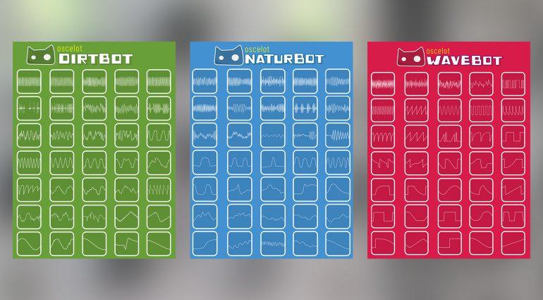 Sam Tierney Oscelot Dirtbot, Naturbot und Wavebot