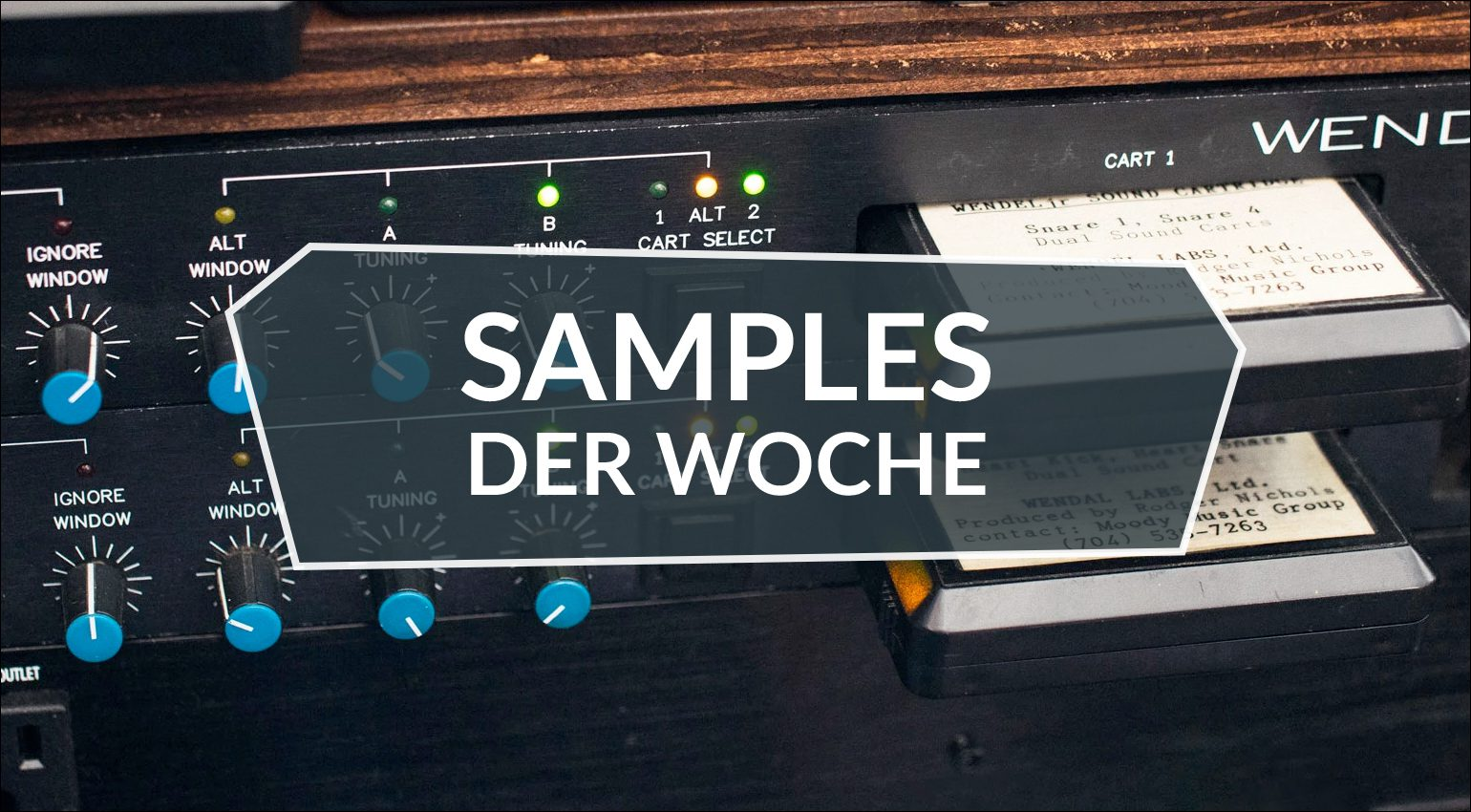 Samples der Woche: Damage 2, Wendel From Mars, Harmonic Songbird