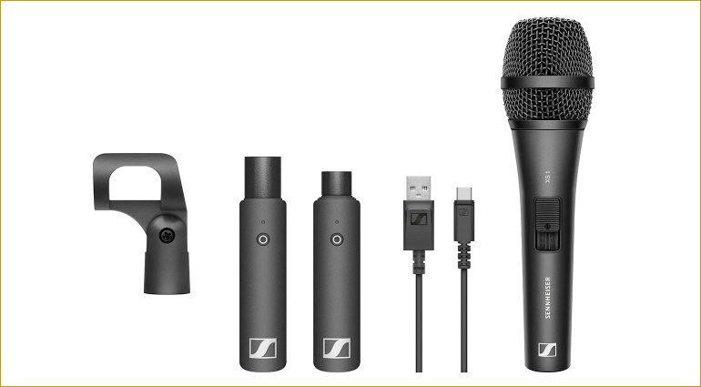 Drahtlose XSW-D Mikrofon-Systeme von Sennheiser reduziert