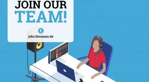 Thomann sucht einen Mitarbeiter im Bereich Studio & Synthesizer: ein Job für dich?