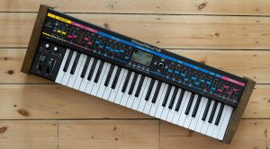 Tora Records Behringer DeepMind Decals (Synthwave Style)