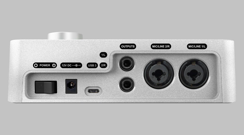 Universal Audio Apollo Solo Rückseite