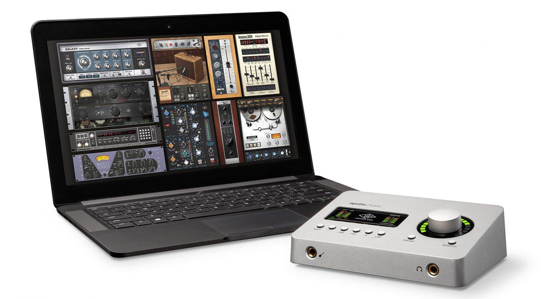 Universal Audio Apollo Solo UAD Software