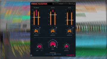 W.A. Production Vocal Cleaner: dieses Plug-in lässt eure Vocals glänzen