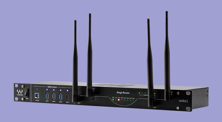 Waves WRC-1 WiFi Stage Router