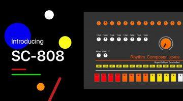"""Kostenlos: Yoshinosuke Horiuchi verschenkt mit SC-808 die """"echte"""" TR-808"""