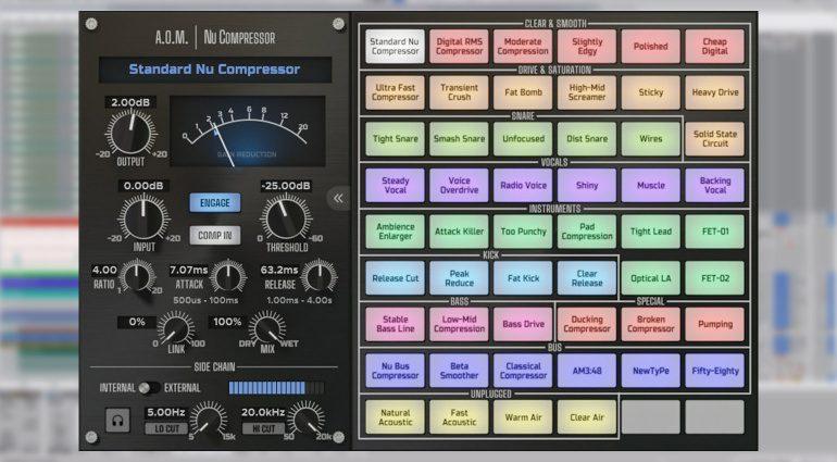 A.O.M. Nu Compressor: 52 Kompressoren in einem Plug-in für 300$?