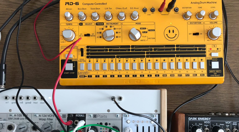 Der Drumcomputer in einem Modular-Setup