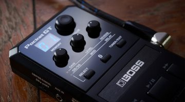 Boss Pocket GT Multi Effekt Pedal Front