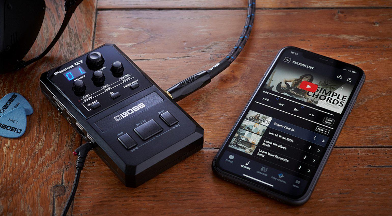 Boss Pocket GT Multi Effekt Pedal Smartphone