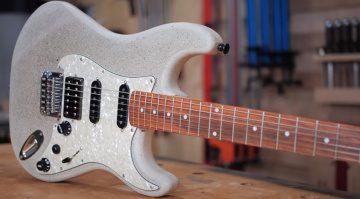 Concrete Guitare E-Gitarre Beton Front