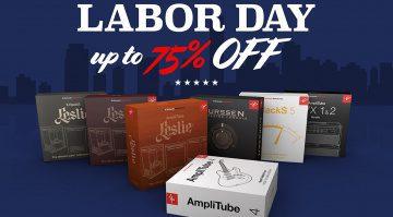 Deal: IK Multimedia Labour Day Deal mit bis zu 75 Prozent Rabatt auf Plug-ins!