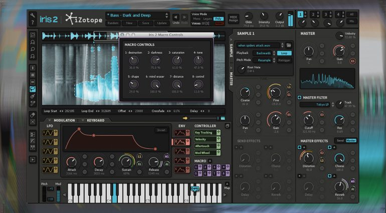 Deal: iZotope Iris 2 Synthesizer Mega-Deal für unter 10 Euro!