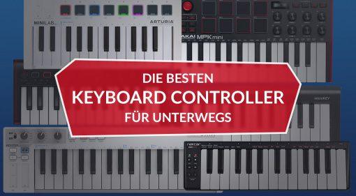 Die besten USB Keyboard Controller für unterwegs