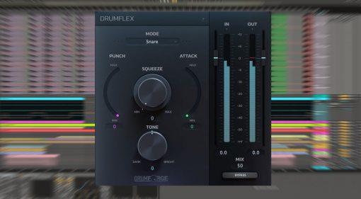 Drumforge Drumflex: ein Multieffekt-Plug-in für Drum Loops und Gruppenspuren