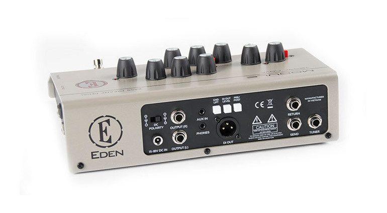 Eden Module Bass Preamp Pedal Back