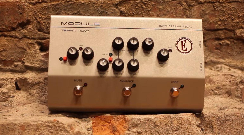 Eden Module Bass Preamp Pedal Front Rocks