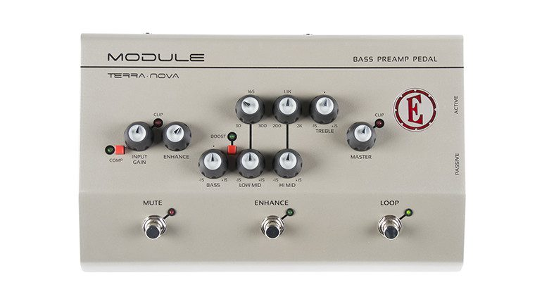 Eden Module Bass Preamp Pedal Front