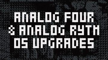 Elektron Analog Four Analog Rytm OS Updates