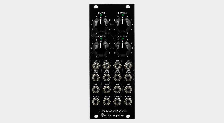 Erica Synths Black Quad VCA 2